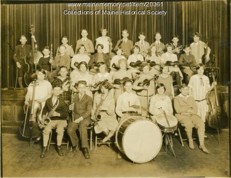 Orchestra, Lincoln Junior High School, Portland, 1925