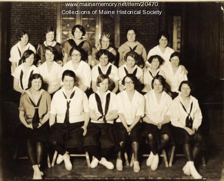 Business class, Portland YWCA, ca. 1935
