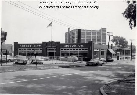 Forest City Chevrolet, Portland, 1960