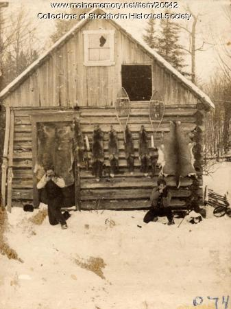 Trappers' Cabin, Stockholm, ca. 1920