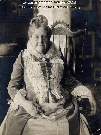 Charlotte Julia Thomas, Portland, 1910