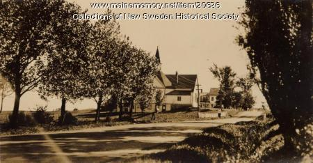 New Sweden Baptist Church, ca. 1938