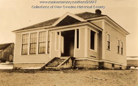 Westmanland School, New Sweden, ca. 1930