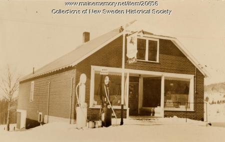 Olander's General Store, New Sweden, ca. 1930