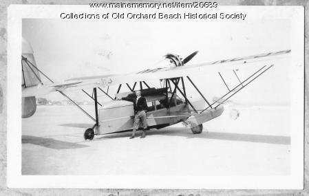 Harry Jones with his Sikorsky S-39