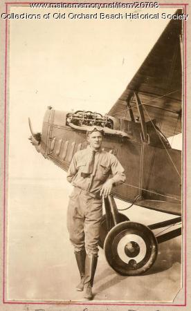 Harry Jones and his Curtiss JN-4C