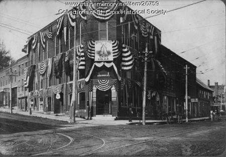 Calais Savings Bank, 1909