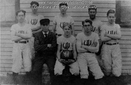 West Jonesport team, 1903