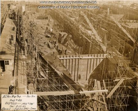 South Portland Shipbuilding Corp., Hull #48, 1943