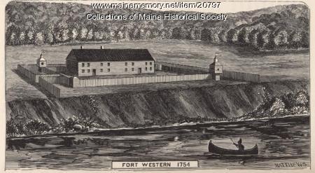 Fort Western, 1754