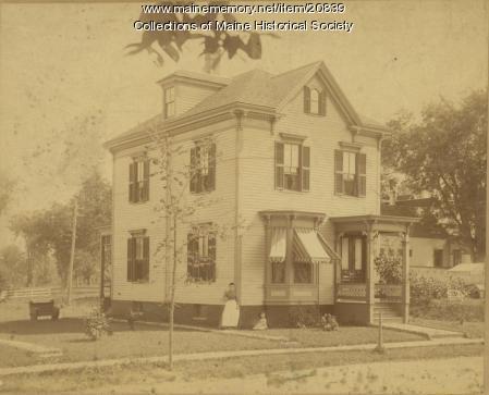 Adalaide and Dorothy Kinney, Portland, 1889