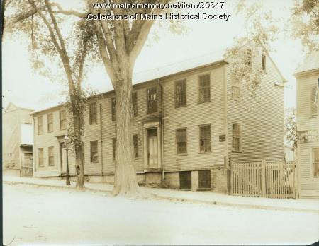 Thomas Brackett Reed birthplace, Portland, ca. 1915
