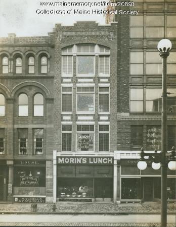Monument Square buildings, Portland, 1913