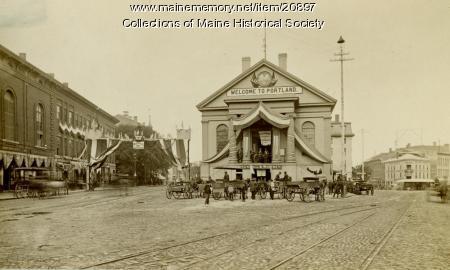 Old City Hall, Portland, ca. 1885