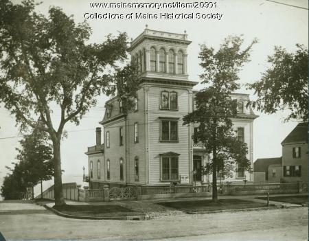 Cummings house, Portland, ca. 1910