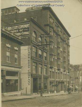 Wadsworth apartments, Portland, ca. 1907