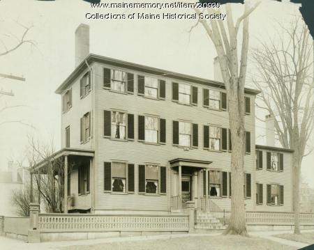 Luther Dana house, Portland, ca. 1920