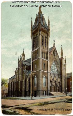 St. Dominic's Church, Portland, ca. 1913
