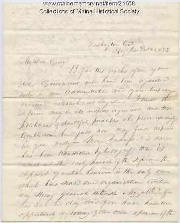 letter to president pierce The papers of franklin pierce (1804-1869), army officer, representative and senator from new hampshire, and fourteenth president of the united states, contain approximately 2,350 items dating from 1820 to 1869 they include correspondence, a photostatic copy of a diary kept by pierce while serving .