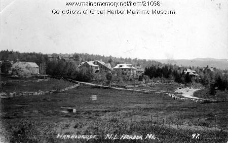 Harbourside, Northeast Harbor, 1903