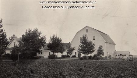 Aron Anderson farm, Perham, ca. 1922