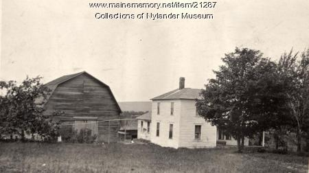 Ernest L. Anderson farm, Perham, ca. 1922