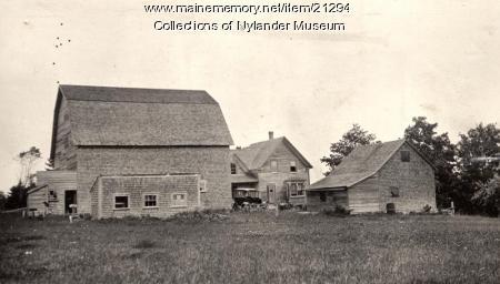 Nels Grill farm, Perham, ca. 1922