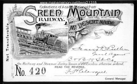 Green Mountain Railway Pass