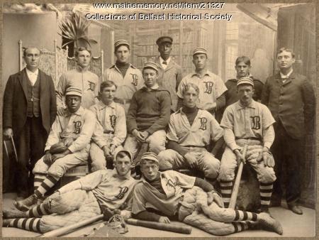Belfast baseball team, 1899