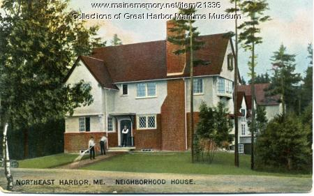 Neighborhood House, Northeast Harbor