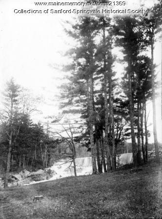 New Dam at Old Falls, Sanford