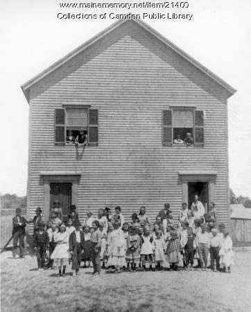 Beach School, Lincolnville, ca. 1892