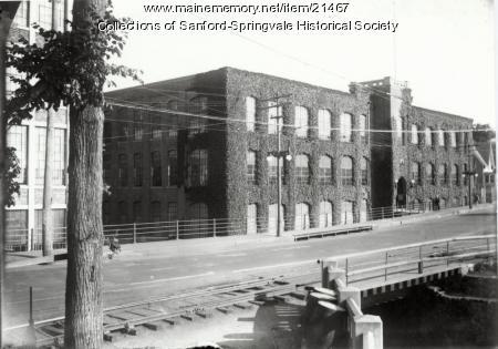 Sanford Mills, Mill #1, Washington Street