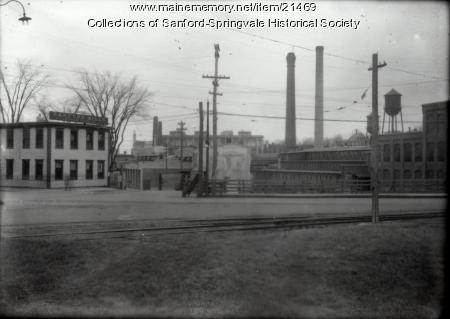 Sanford Mills, Main Office & Mill Number 4