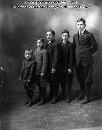 Shaw Children, Sanford