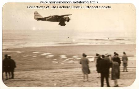 'The Pathfinder,' Old Orchard Beach, 1929