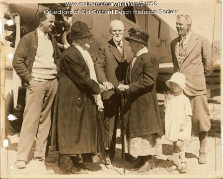 Centenarians, Old Orchard Beach, 1927