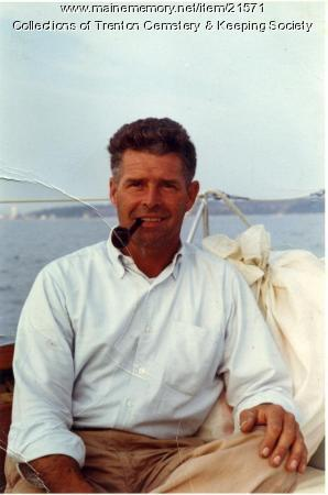 Donald Bryant on Rockefeller Yacht