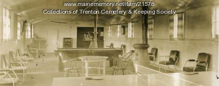 CCC Rec Room, Bar Harbor Camp