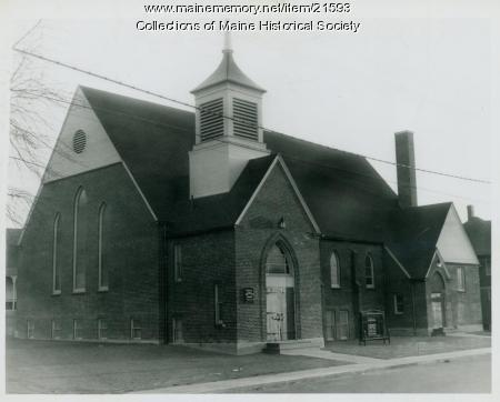 People's Methodist Church, South Portland, 1947