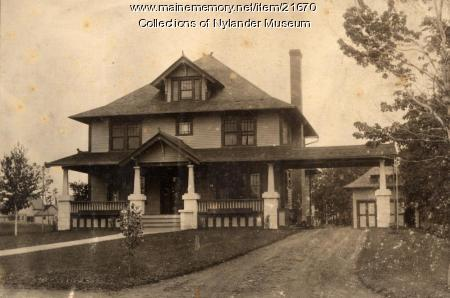 N. A. Currier home, Caribou, ca. 1922