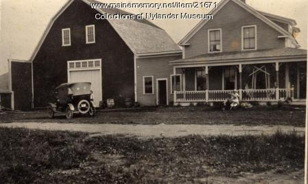 Edward Olson farm , Caribou, ca. 1922
