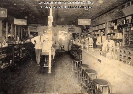 Havey's Pharmacy, Caribou, ca. 1922