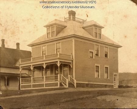 H. O. Spencer home, Caribou, ca. 1922