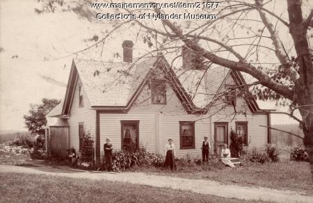 Jonas Peterson home, New Sweden, ca. 1922