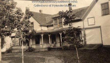 Christofer Lvenson home, Caribou, ca. 1922