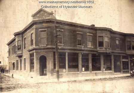 Caribou National Bank, Caribou, ca. 1922