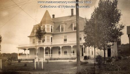 W. A. Long home, Caribou, ca 1922