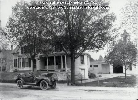 Fred S. Sherburne, 47 High Street, Sanford