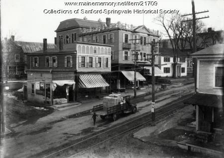 South Side of Washington Street, Sanford, ca. 1915